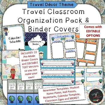 Travel Themed Calendar Teaching Resources  Teachers Pay Teachers