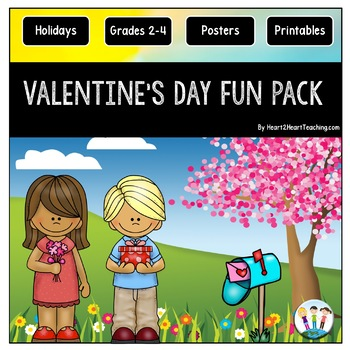 Valentine's Day Activities Pack