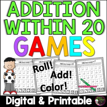 Addition Games  (Facts to 20)
