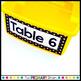 Superhero Themed EDITABLE Table Caddy Labels