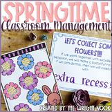 Classroom Behavior Management Tools for April
