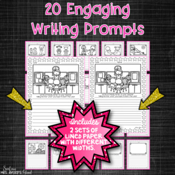 August Writing Prompts and Word Work