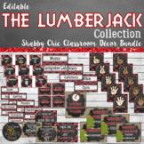 Lumberjack Classroom Theme Decor Bundle