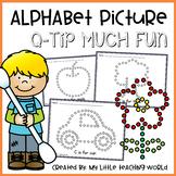 Alphabet Q-Tip Picture