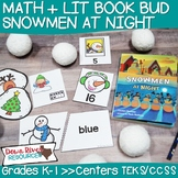 Snowmen at Night Book Bud | Winter Activities | Snowmen Ac