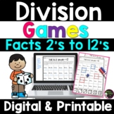Division Games (2's to 12's)
