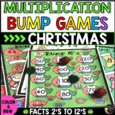 Multiplication Bump Games (Christmas themed)