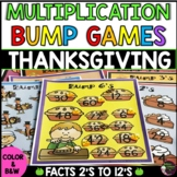 Multiplication Bump Games (Thanksgiving themed)