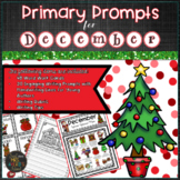 December PRIMARY Writing Prompts   Christmas Writing Prompts and Word Work