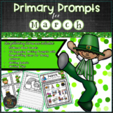 March PRIMARY Writing Prompts and Word Work