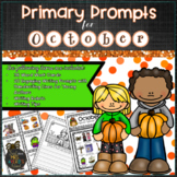 October PRIMARY Writing Prompts and Word Work