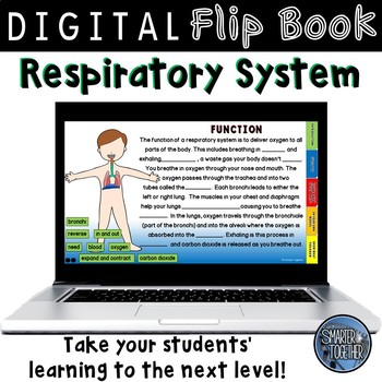 Respiratory System Digital Flip Book
