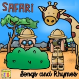 African Safari Animals Songs and Rhymes