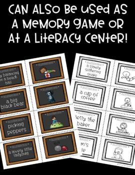 Alliteration Matching Cards!
