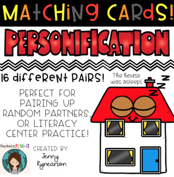 Personification Matching Cards!