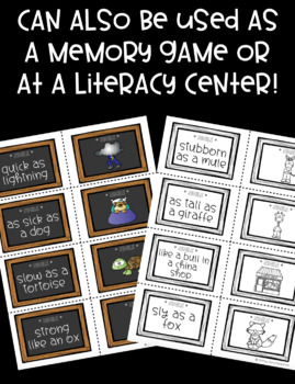 Simile Matching Cards!