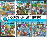 Ocean Clip Art Mega-Bundle - Chirp Graphics