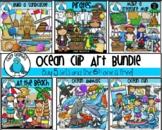 Ocean Clip Art Bundle - Chirp Graphics