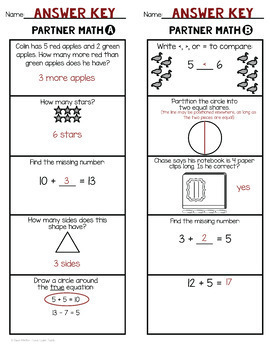 2nd Grade Beginning and End of the Year Math Review Activities Bundle
