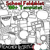 100+ SCHOOL Foldables, Interactives & Flip Book TEMPLATES