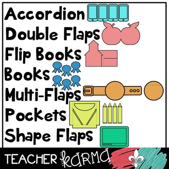 100+ SCHOOL Foldables, Interactives & Flip Book TEMPLATES