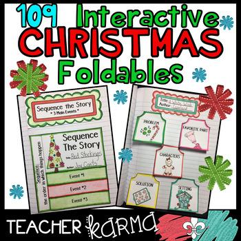 CHRISTMAS Foldables & Interactive Notebook BUNDLE