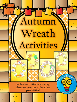 Autumn Wreath Activities - October/November