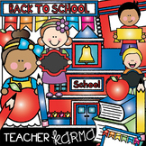 Back to School Clipart, Seller's Kit