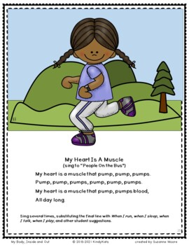 My Body: Songs & Rhymes | Body Parts | Body Systems | Heart Health