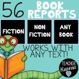 Book Reports BUNDLE to Use with ANY Book