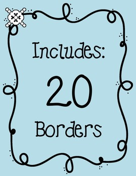 Borders: LOOPDY LOOP Clipart ~ Commercial Use OK