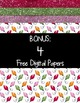 Bright Shiny Christmas Clipart ~ Commercial OK ~ FREE Papers