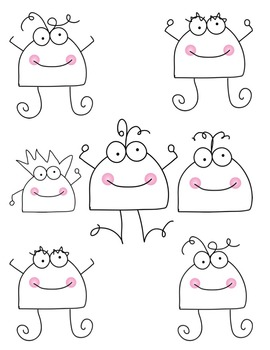 Bugs:  Doodle Bugs Clipart ~ Commercial Use OK