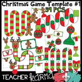CHRISTMAS Game Boards & Pieces Bundle  #1