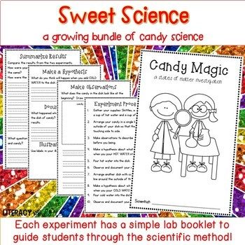 Candy Science: A Growing Bundle of Science Experiments