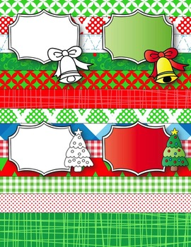 Christmas Elves Seller's Kit Clipart ~ Commercial Use OK