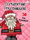 Christmas Printables ~ NO PREP!  Holiday Reading & Writing