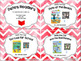 Pete the Kitty Cat Reader Menus and QR Code Task Cards