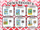 Pete the Cat Reading Menus and QR Code Task Cards - Distan