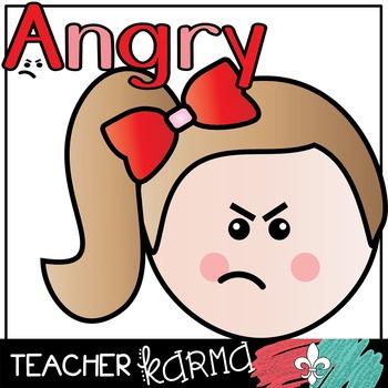 Emotions & Feelings * Kids Clipart
