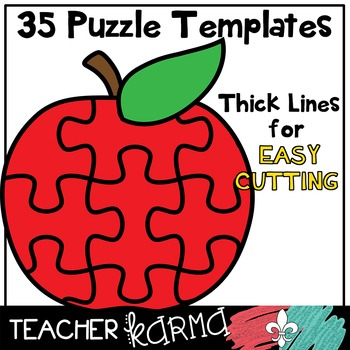 FUN Shapes Puzzle TEMPLATES