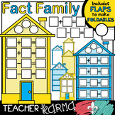 Fact Family House Clipart KIT