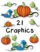 Fall Clipart ~ Commercial Use OK ~ Autumn