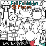 Fall Foldables, Interactives & Flip Book TEMPLATES