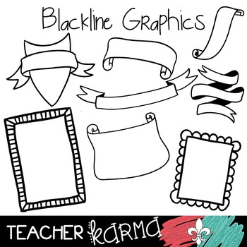Frames for FUN Clipart ~ Commercial Use OK ~ Borders
