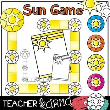 Game Boards & Pieces  * FUN IN THE SUN * Bundle  #3