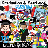 Graduation & Yearbook BUNDLE Clipart