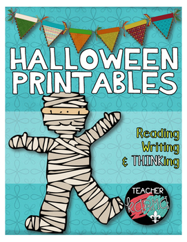 Halloween Printables Kit