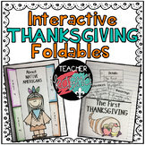 Thanksgiving Interactive Foldables Notebook