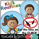 Kid & Student Daily Routines * Picture Schedule Clipart